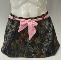 Sukně Wilderness - Pink-Belted Swim Skirt