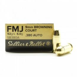 9 mm Browning Court SB - FMJ
